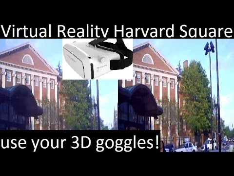 Virtual Reality Harvard Square - use your 3D goggles! #harvard #VR #3D