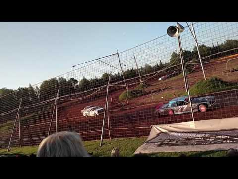 Tomahawk Speedway Street Stock Heat Races 7 4 2017