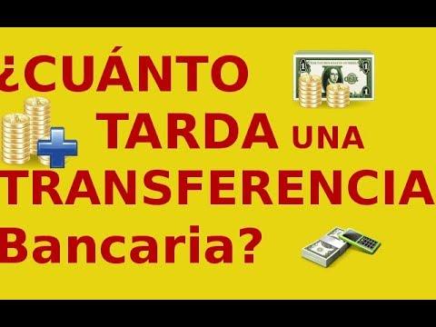 ¿Cuánto TARDA Una TRANSFERENCIA Bancaria? (Internacional Y Nacional)