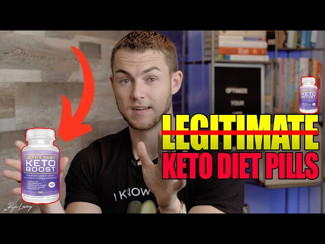 How to spot the KETO DIET PILL SCAM  [PART 3]