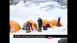 Unni kannan from Payyanur, Soldier who climbs Mount Everest twice