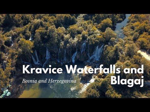 Kravice Waterfalls, Blagaj - Bosnia and Herzegovina