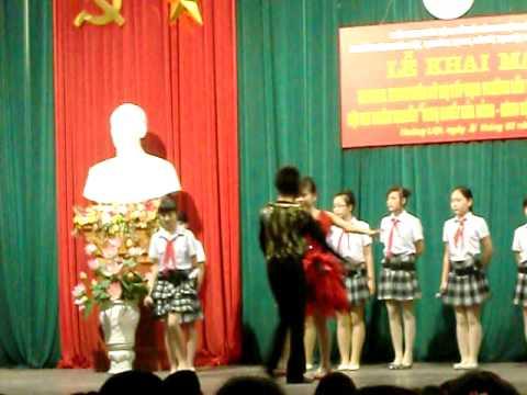 Bay cao tiếng hát ước mơ - THCS Hoàng Liệt