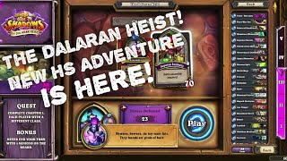 Download Rise of Shadows. The Dalaran Heist! New HS Adventure is here! Mp3 and Videos