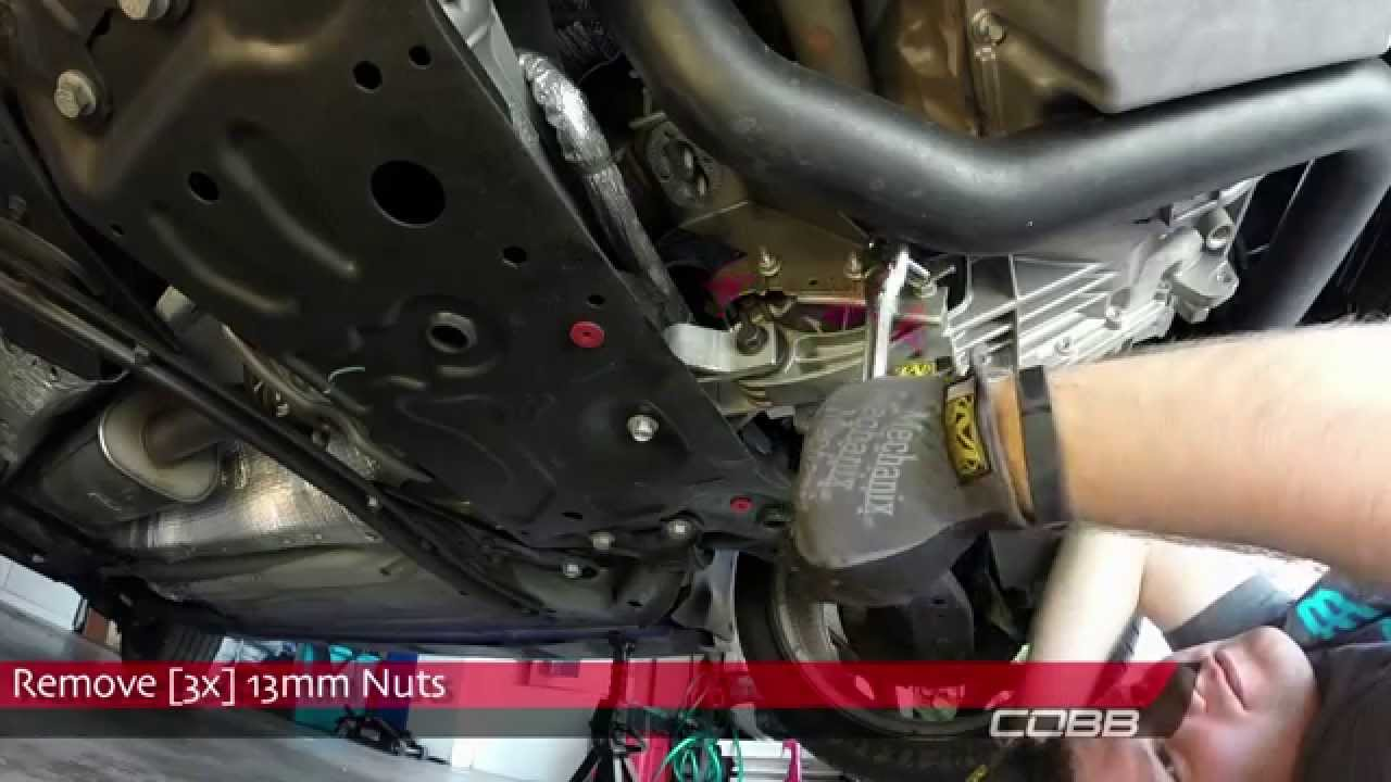 Cobb rear motor mount install how to ford focus st 2013 for Motor mounts ford focus
