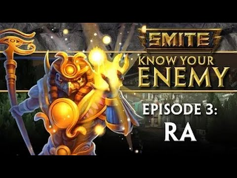 видео: smite - know your enemy - Гайд #3: ra - Ра (Субтитры)