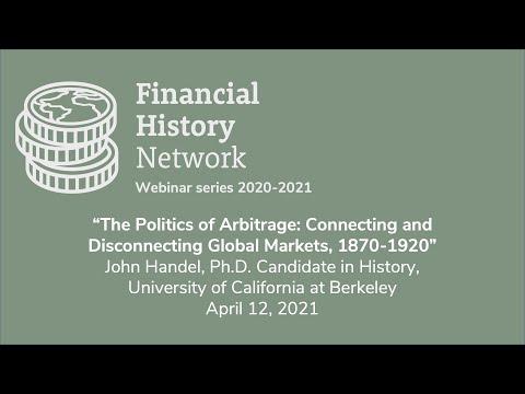 Financial History Network. John Handel seminar, April 2021