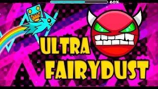 GEOMETRY DASH - (Medium Demon) - 33 - Ultra FairyDust by Rulas
