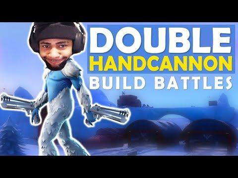 DOUBLE HANDCANNON | BUILD BATTLES | SICK SHOTS - (Fortnite Battle Royale)
