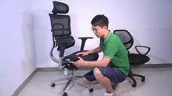 iKayaa Multi-function Adjustable Mesh Ergonomic Office Chair