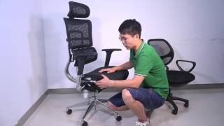 Video iKayaa Multi-function Adjustable Mesh Ergonomic Office Chair download MP3, 3GP, MP4, WEBM, AVI, FLV Agustus 2018