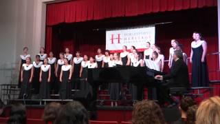 Shiru (Allan Naplan) - Gunn High School Treble Choir 2014