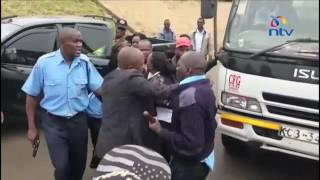 Police fight over bribe collected