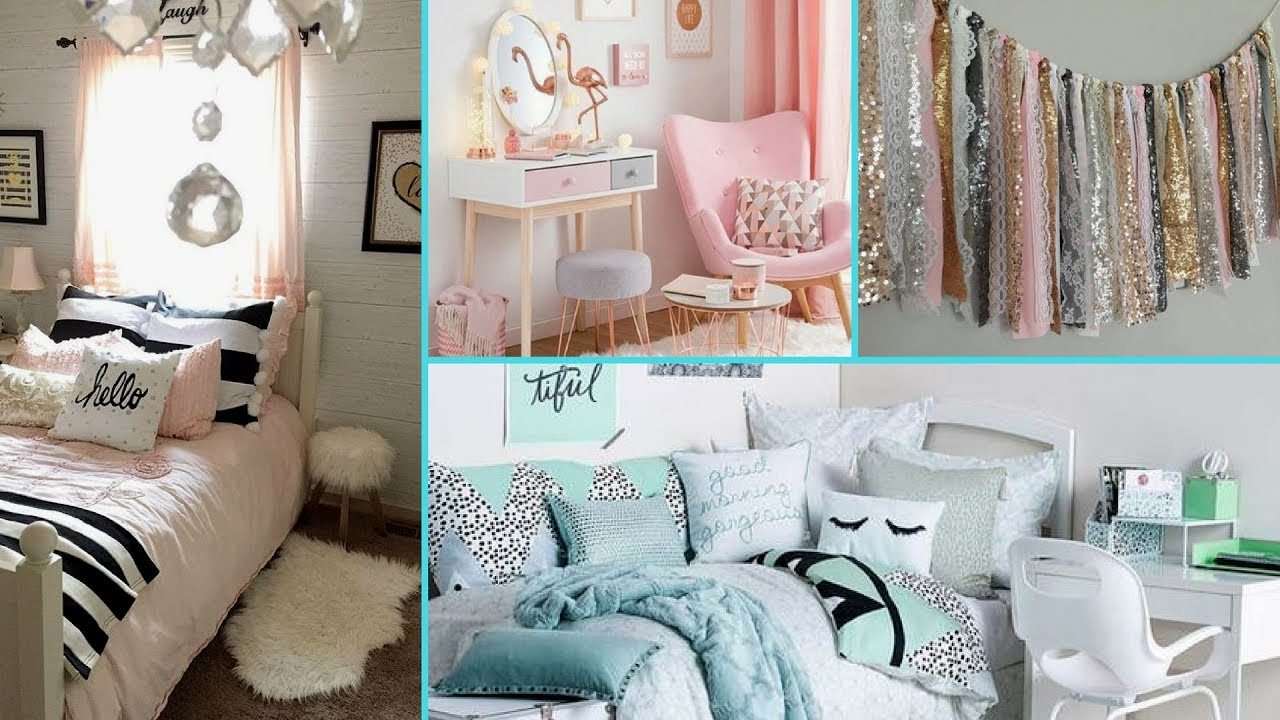 DIY Shabby Chic Style Dorm Room Decor Ideas ❤ | Home Decor U0026 Interior Design  | Flamingo Mango|
