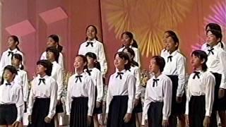 「祭りと子ども」から「花祭り」(宝塚市立すみれガ丘小学校)