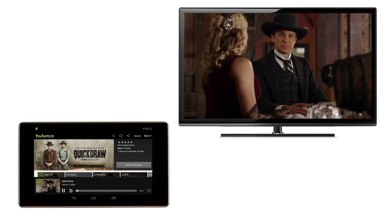 Chromecast: How to cast using Hulu Plus