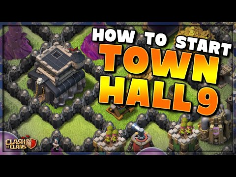 HOW TO START TH9!  TOWN HALL 9 LET'S PLAY PREMIERE!