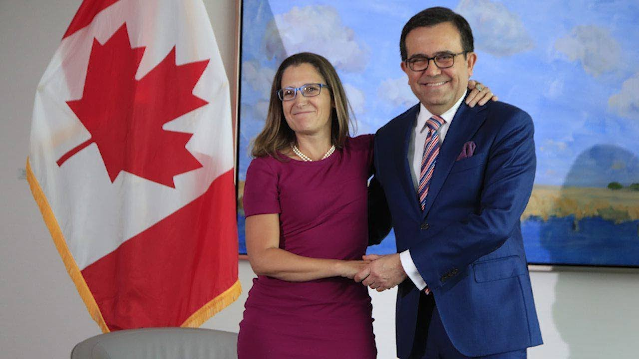 Chrystia Freeland Meets With Mexican Minister In Washington