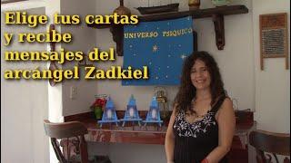 Elige tus cartas y recibe mensajes del arcángel Zadkiel