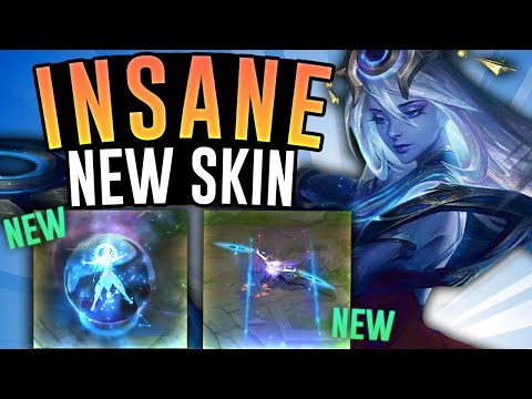 COSMIC LUX is such an AMAZING NEW SKIN! - Lux Mid - League of Legends