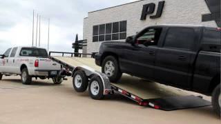 "83"" Hydraulic Quick Tilt Demo - Pj Trailers"