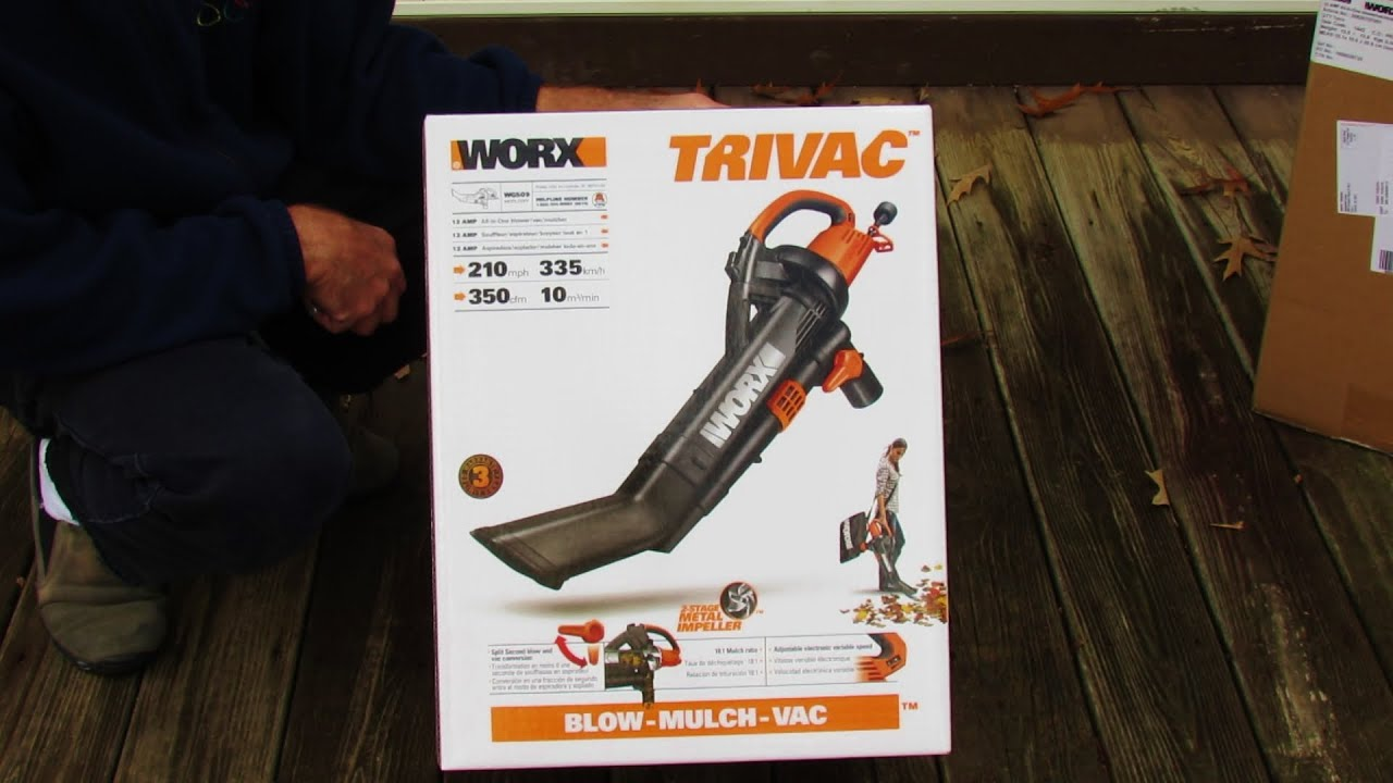 Worx Trivac Collapsible Yard Bag And Leaf Pro Collection System Unboxing Assembly Review You