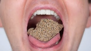 SAND IN MOUTH!