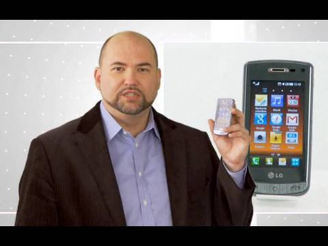 LG GD900 Crystal: Das Glastastatur-Handy im Video-Check