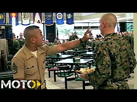 Watch Marine Corps Drill Instructors KILL Recruits!!! - YouTube