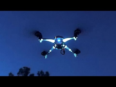 F802D FPV Drone Night Flying