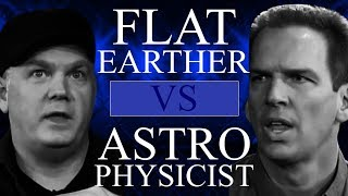 Flat Earther VS Astrophysicist! Your Daily Derpa-Derp!