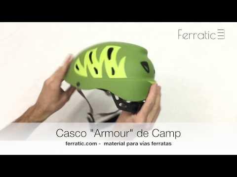 Casco Armour verde de Camp - Ferratic