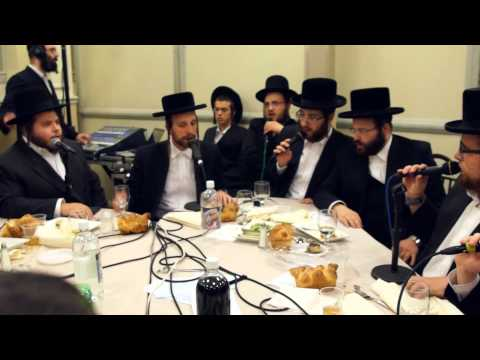 Shira Choir Sings New Song At Bar Mitzvah - מקהלת שירה מבצעת