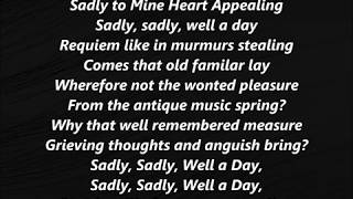 Sadly to Mine Heart Appealing Stephen Foster LYRICS WORDS BEST Steven SING ALONG SONGS