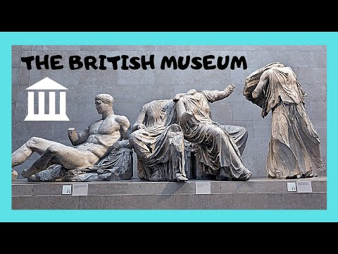 LONDON, what to see at the BRITISH MUSEUM in less than 2 hours!!