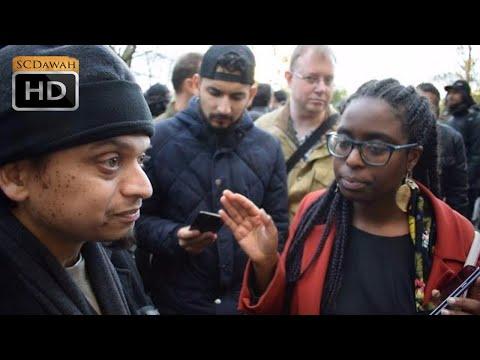 No Answers Please! Mansur Vs Christian   Speakers Corner   Hyde Park