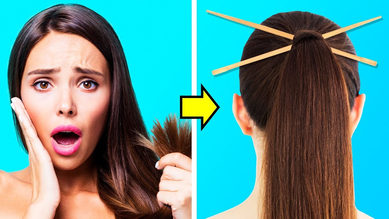 curly hair hacks 5 minute crafts
