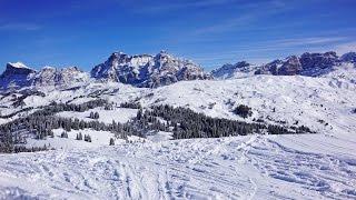 Смотреть видео альта бадиа горнолыжный курорт