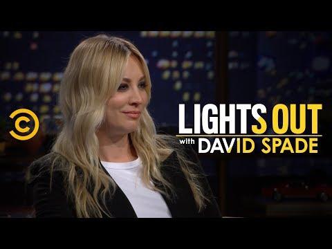 Kaley Cuoco Blocks David Spade on Instagram - Lights Out with David Spade
