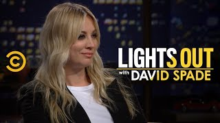 Kaley Cuoco Blocks David Spade on Instagram - Lights Out with David Spade