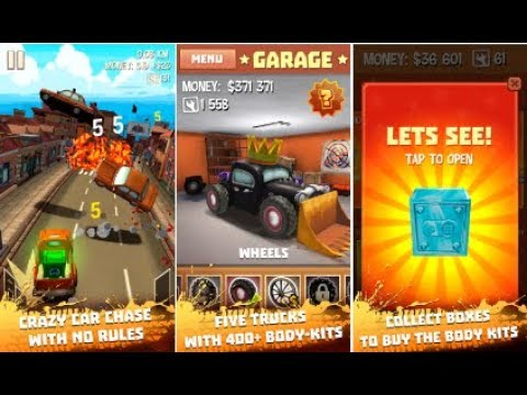 Freak truck: Crazy car racing