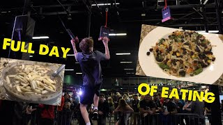 What does a Ninja Warrior eat in a day?!