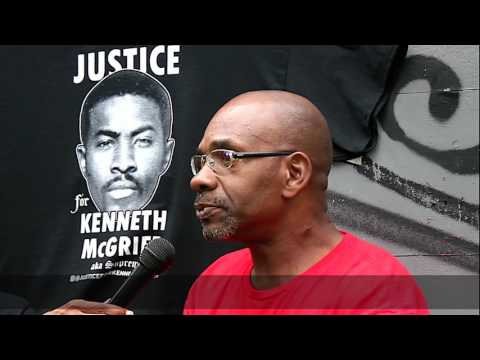 "Justice For Kenneth ""Supreme"" McGriff--Yakim"