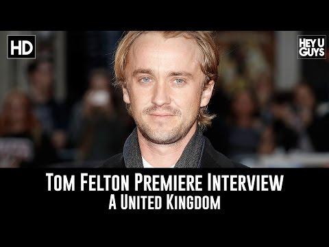 Tom Felton LFF Premiere Interview - A United Kingdom