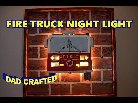 DIY Fire Truck Night Light