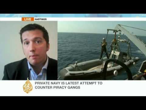 Private navy to combat Somali piracy