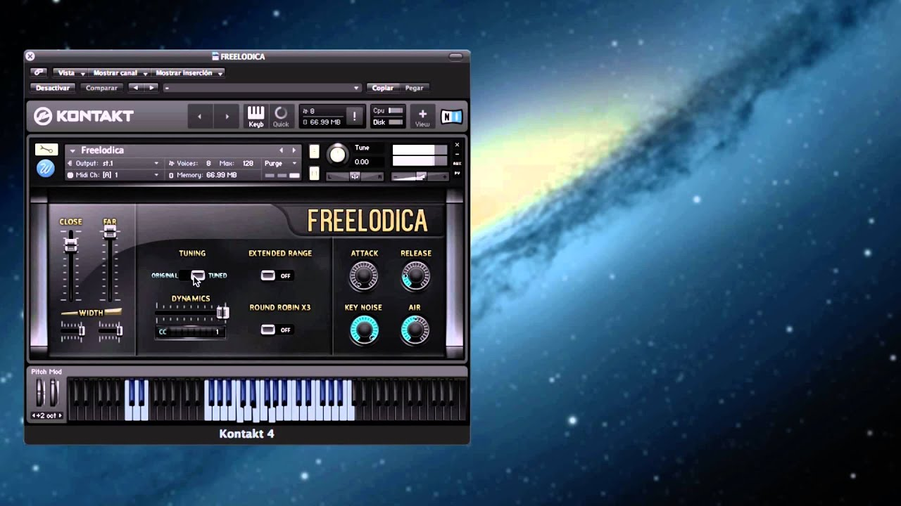 The Freelodica - Free NI Kontakt Library