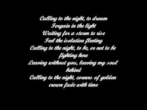 Natasha Farrow Calling To The Night Lyrics
