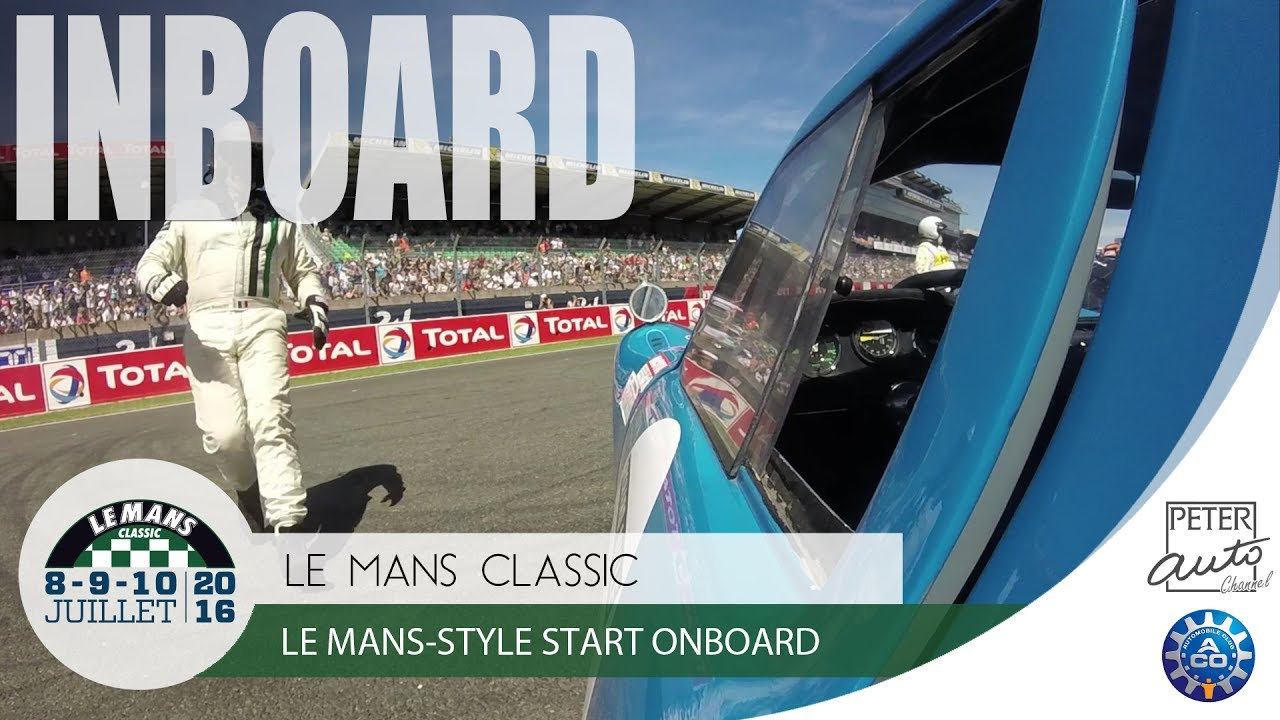 le mans style start onboard at le mans classic 24 hours. Black Bedroom Furniture Sets. Home Design Ideas