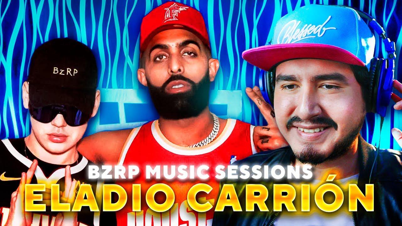 Reacción a ELADIO CARRIÓN | BIZARRAP (BZRP Music Sessions #40)